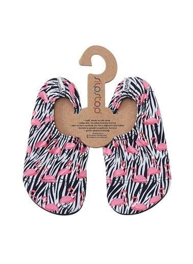 Slipstop Flamingo Junior Çocuk Kaydırmaz Ayakkabı - Patik Ss17110176 Renkli